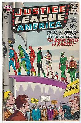 Justice League of America (Vol 1) #  19 (Vgd Minus-) (VG- )  RS003 DC Comics AME