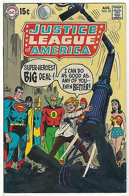 Justice League of America (Vol 1) #  73 (VryFn Minus-) (VFN-)  RS003 AMERICAN