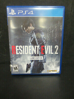 PlayStation 4 Resident Evil 2 Deluxe Edition