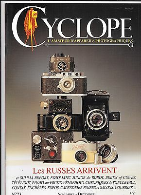 Collection Appareils Photo Revue Cyclope N 23