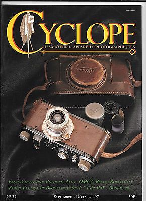 Collection Appareils Photo Revue Cyclope N 34