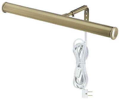 WESTINGHOUSE LIGHTING CORP 14-Inch Antique Brass Slimline Picture Light 75053