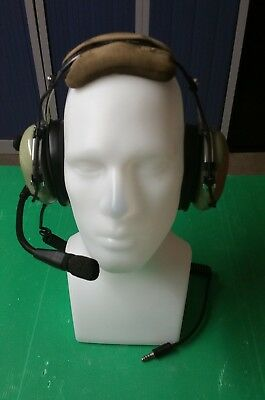 David Clark H10-26 stereo Headset Helicopter pilot aviation