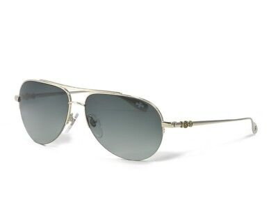 95c1538e80aa CHROME HEARTS STAINS Aviator Mirror White Gold Brown Gradient ...