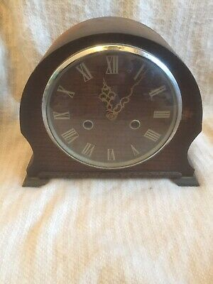 Antique Smiths Of Enfield Wooden Mantal Clock Restoration Project
