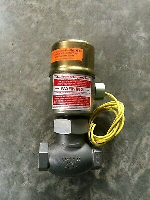 Gould 2-way Stainless Steel Solenoid Valve KST-3T 1/2'' 20-1000 PSI 120 Volts