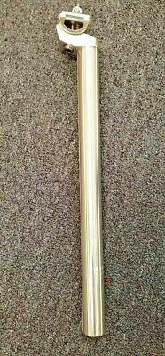 Black Ops Seatpost Fluted 25.4 X 350 W//Clmp  SOLID BLACK Ano BMX SE RACING GT
