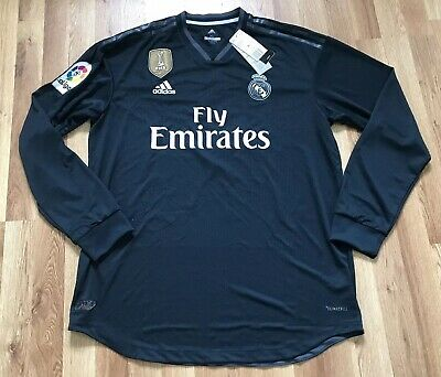 a10af919bf1 New Adidas Real Madrid Authentic Sergio Ramos Jersey 2018 19 Ls Dq0868 Xl