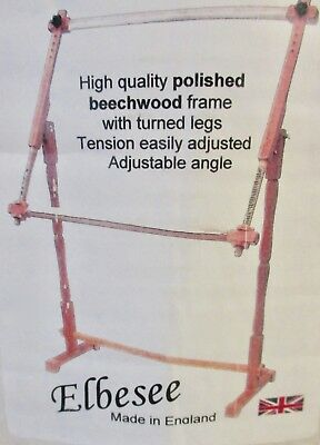Elbesse Floor Standing Tapestry And Cross Stitch Frame  ~ Mib