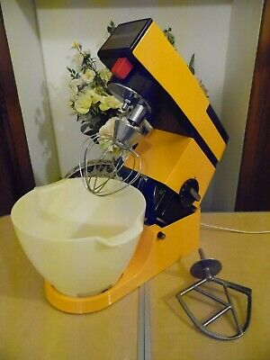 Kenwood Chef A901 Mixer in Custard Yellow Kenlyte With Bowl K Beater & Whisk .