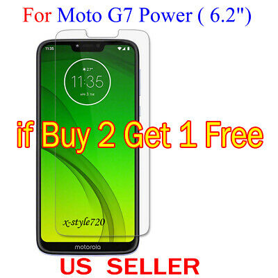 """1x Clear LCD Screen Protector Guard Cover Film For Motorola Moto G7 Power (6.2"""")"""
