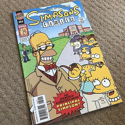 SIMPSONS COMICS #84 - Great Condition - BONGO US - July 2003 - NM