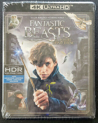 ☆New☆ Fantastic Beasts And Where To Find Them 4K Uhd + Bluray + Digital