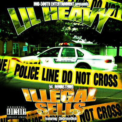 Lil Heavy - Illegal Sells (Official CD Release Classic Underground Memphis Rap)!
