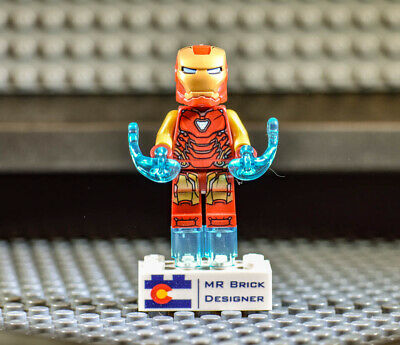 LEGO Marvel Super Heroes Iron Man MINIFIG from Lego set #76131 Brand New