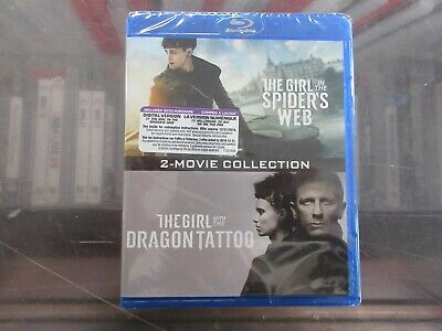 NEW The Girl in the Spider's Web - Girl with the Dragon Tattoo (Blu Ray Digital)