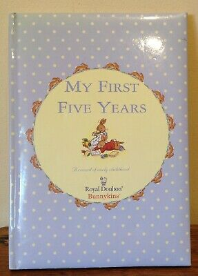 My First Five Years -Royal Doulton Bunnykins journal