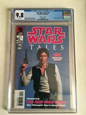 Star Wars Tales #19 Cgc 9.8 1St Appearance Of Ben Solo Photo Variant Cover
