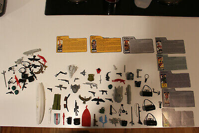 GI Joe Vintage LOT Accessories /& Parts 1988-1989 Hasbro YOU PICK