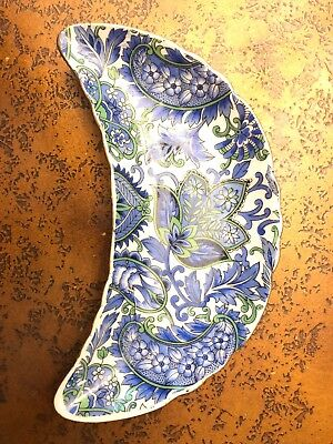 Royal Paisley Side Dish Blue 2570
