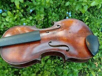 American 4/4 Violin--Early J.r. Carlisle?