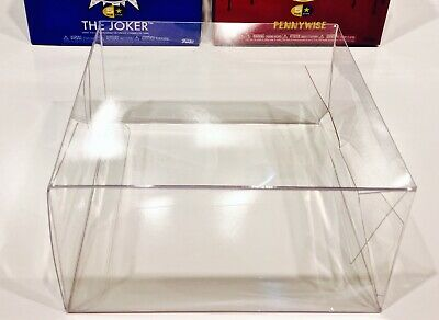 8 Box Protectors for FUNKO 5 STARS Vinyl Figure Boxes    Clear Display Case Pop!