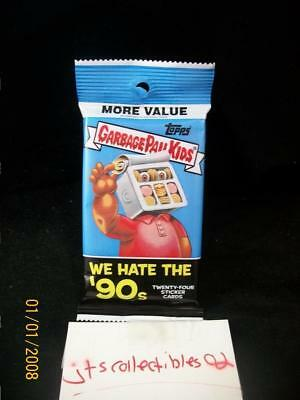 2019 Topps Garbage Pail Kids We Hate The 90's Guaranteed Fools GOLD #50 Hot Pack