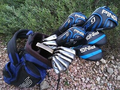 LH SENIORS - PING G Series Complete Golf Club Set *13 Clubs + Bag* LEFT HANDED