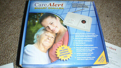 Care Alert Smart Dialler personal/ Fall alarm Model CA-0813 with all accessories