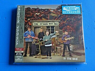 2019 JAPAN CRANBERRIES IN THE END DIGIPAK CD w/BONUS TRACK FOR JAPAN