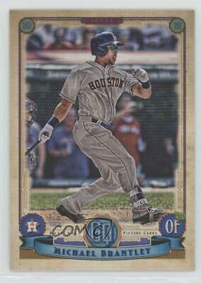 2019 Topps Gypsy Queen #54 Michael Brantley Houston Astros Baseball Card