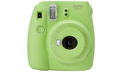 instax Mini 9 Camera with 10 shots - Lime Green With A Cute Iconic Design NEW_UK