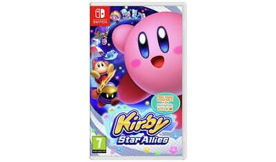 Kirby Star Allies Nintendo Switch Game Creativity With The Artist Ability NEW_UK