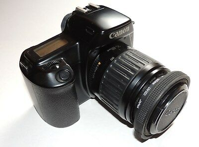 Canon EOS 1000F + 35-80mm + UV + Skylight + Tasche (Bag)