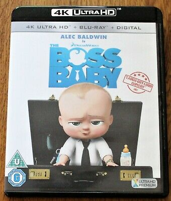 The Boss Baby 4K Ultra Hd Uhd Blu Ray + Blu Ray For Sale