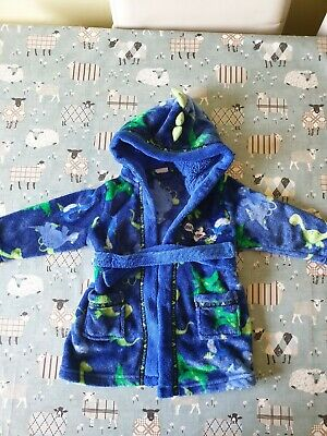 Mickey Mouse Boys Dressing Gown Bath Robe - 12-18 Months - Disney Store