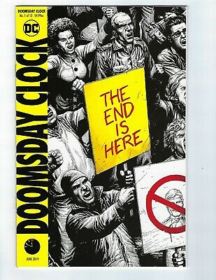 Doomsday Clock # 1 of 12 Variant Cover NM DC 5th Print