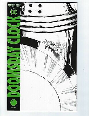 Doomsday Clock # 7 of 12 Variant Cover NM DC 2nd Print