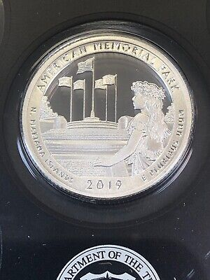 2019 S Mint 99% SILVER Proof Lowell National Historical Park Quarter Quarter ATB