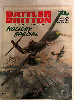 Battler Britton Picture Library Holiday Special dated 1978