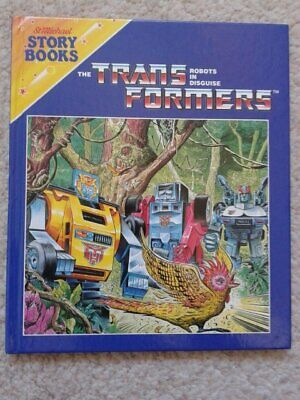 St Michael Press - Transformers Deadly Paradise Hardback Book 1986 G1 Characters