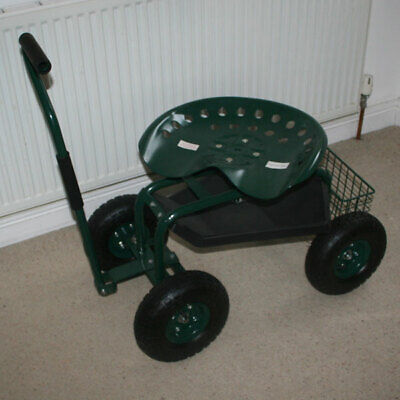 Deluxe Tractor Scooter Gardening Aid - New - Rrp £80.00