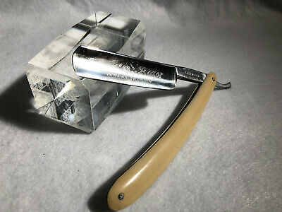 "Vintage King's Crown Razor  13/16"" Straight Razor  Cut Throat Solingen"