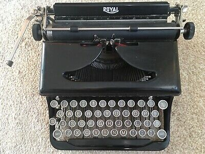 Royal Vintage Typewriter In Original Box