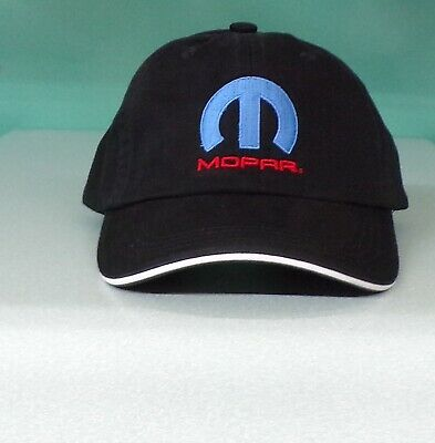 MOPAR Embroidered Ball Cap Dodge Plymouth Chrysler Hemi Cuda Challenger New