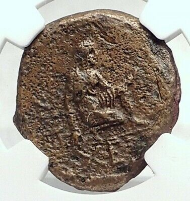TAURIC CHERSONESOS 320BC Authentic Ancient Greek Coin GRIFFIN ARTEMIS NGC i77475