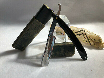 "Vintage Puma High Class 91 6/8"" Straight Razor Cut Throat Solingen"
