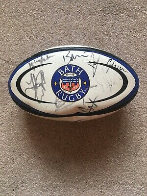 2018 Bath Rugby Ball Signed