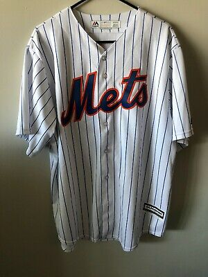 6991ac2e JACOB DEGROM #48 New York Mets XL Majestic MLB CoolBase Jersey ...