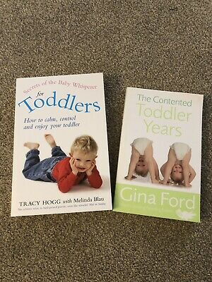 Toddler Parenting Book Bundle - Tracy Hogg and Gina Ford